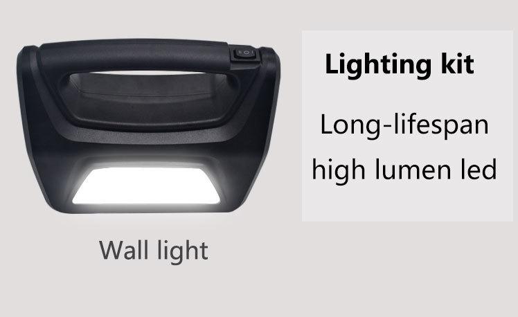kit generator lighting Huami Brand portable solar panel kits for home factory