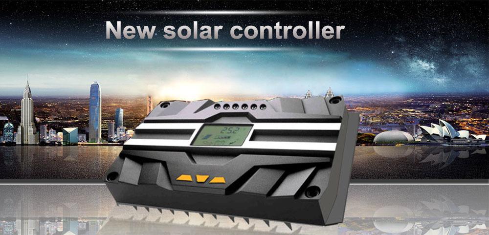 Huami Brand 80a mppt solar charge controller 36v 12v24v supplier