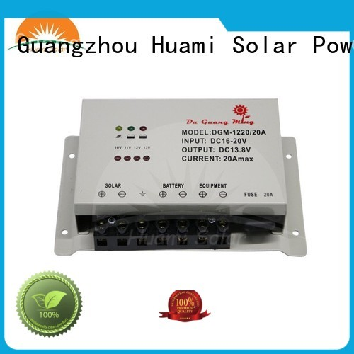 voltage df1220 pwm based solar charge controller 30a Huami company