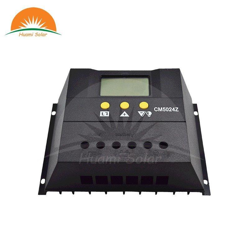 12V/24V 50A LED PWM Solar Charge Controller CM5024