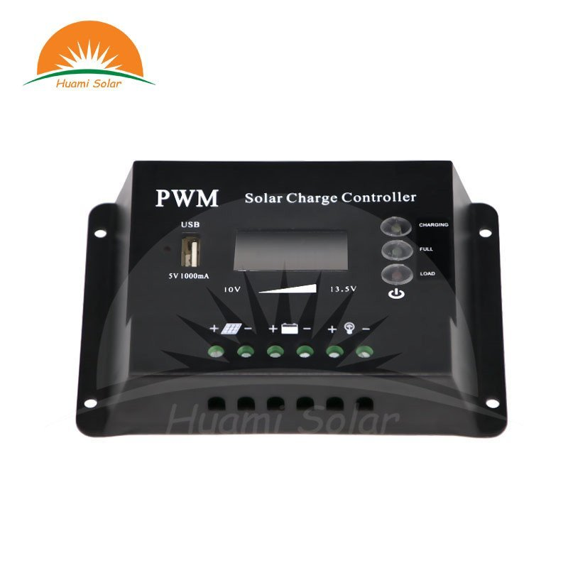 solar battery charger for phone 12V 10A LED PWM Solar Charge Controller HME