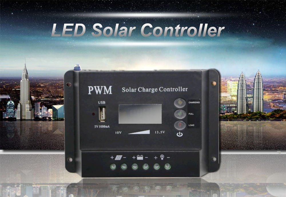 Hot mppt solar charge controller 36v hm10a 12v24v48v charge Huami Brand