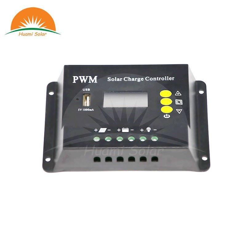 The guide of 12V 10A LED PWM Solar Charge Controller SE2410X