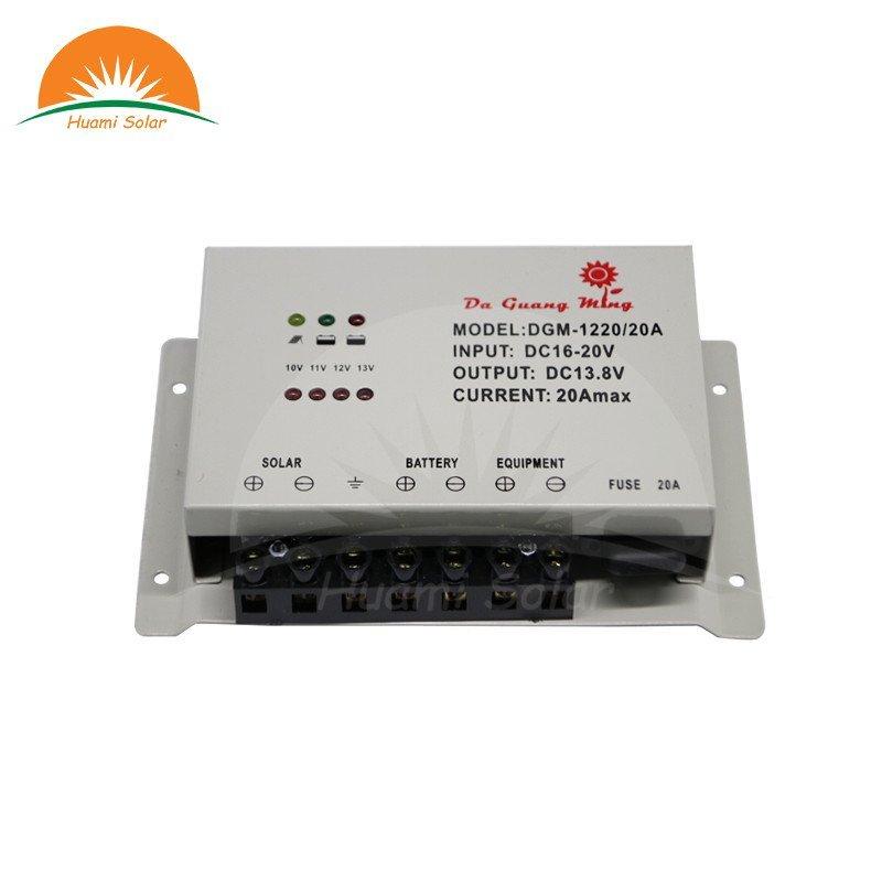 12V 20A Solar PWM Charge Controller DGM-1220