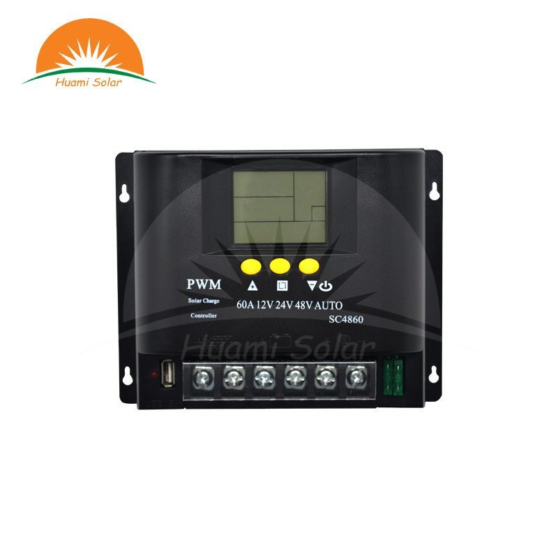 12V/24V/48V 60A LCD PWM Solar Charge Controller SYC4860