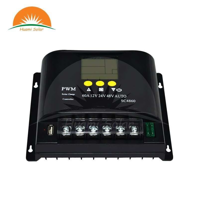 The guide of 12V/24V/48V 60A LCD PWM Solar Charge Controller SYC4860