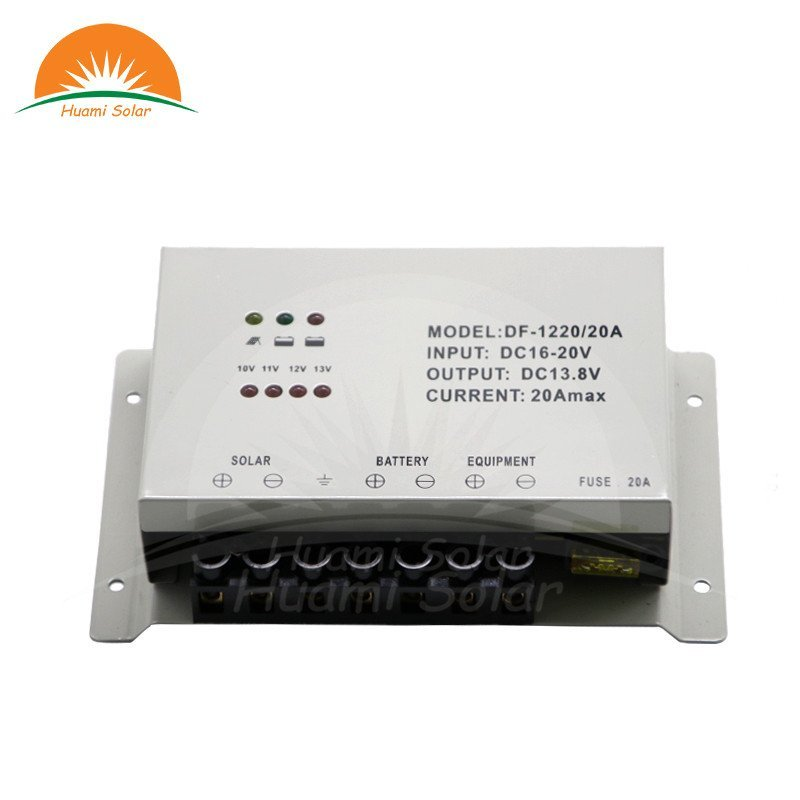 The guide of 12V 20A PWM Solar Charge Controller DF-1220