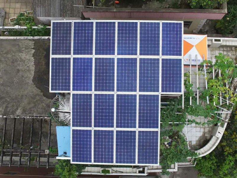 Foshan 5.7KW solar home system
