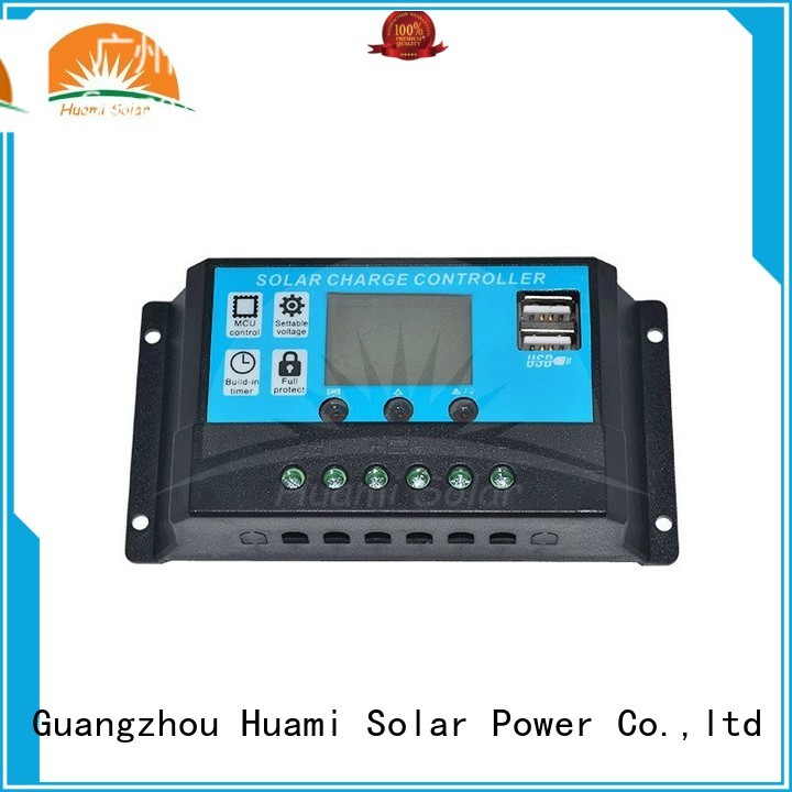 Quality Huami Brand voltage small pwm based solar charge controller