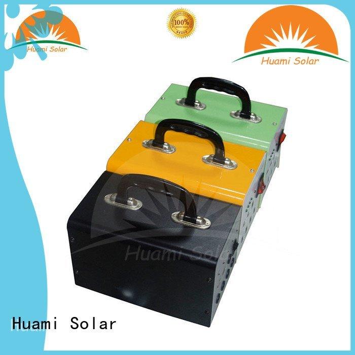 Huami generator lighting solar power generator kit portable lst1210