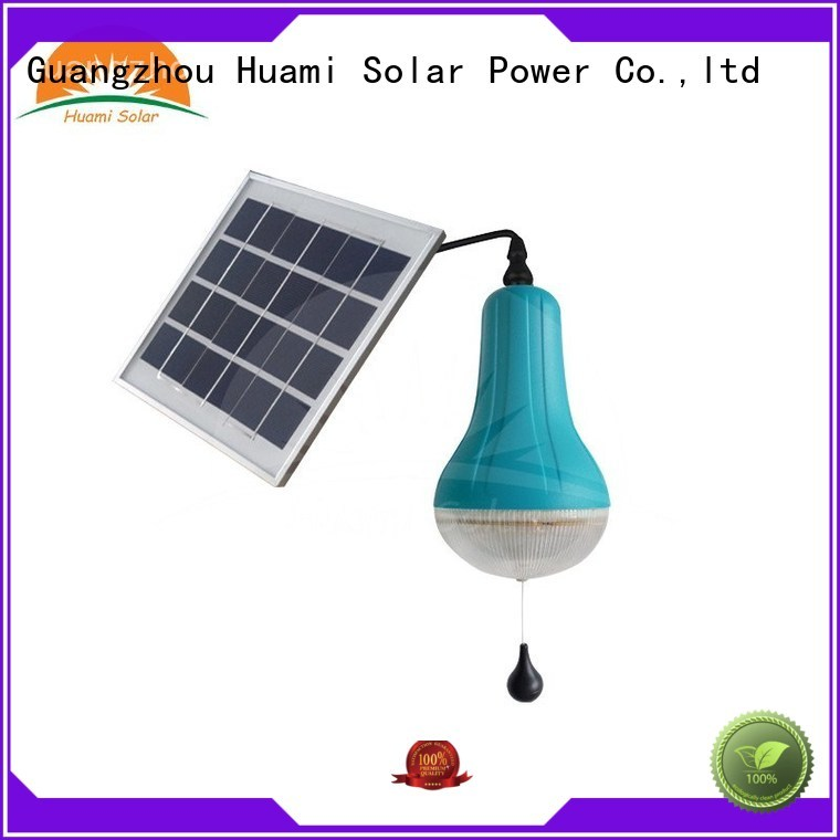 panel commercial solar Huami Brand solar lamp post factory