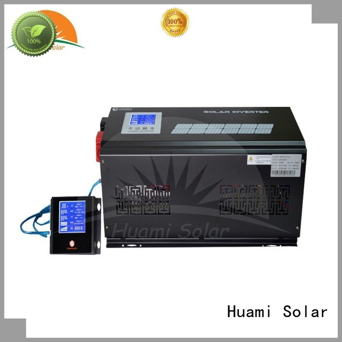 Huami Brand sine pure inverter pwm solar charge controller manufacture