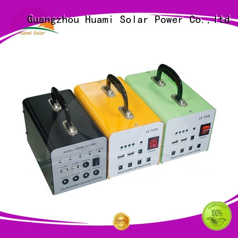 Huami Brand kit lst1210 portable solar panel kits for home portable supplier