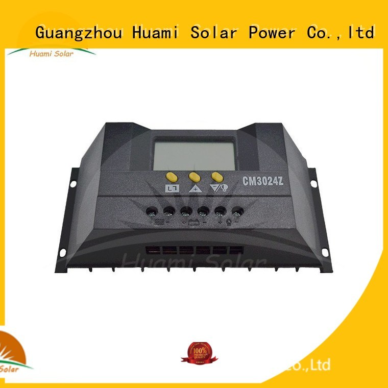 Huami Brand se2410x 30a lcd mppt solar charge controller 36v pwm