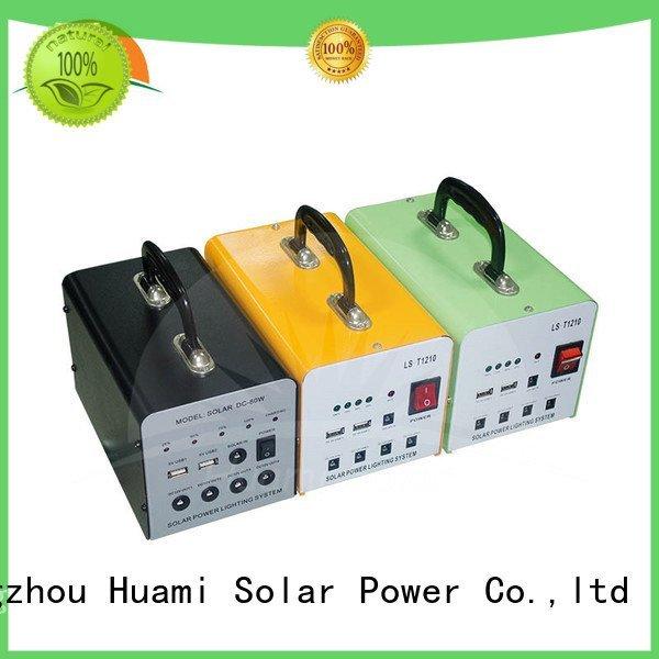 dc80w solar generator portable solar panel kits for home Huami