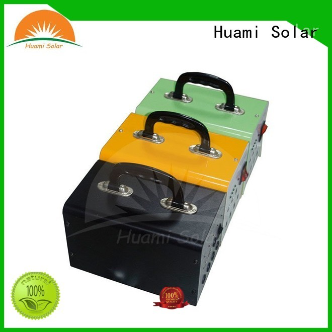 lighting generator small solar kit lst1210 Huami company