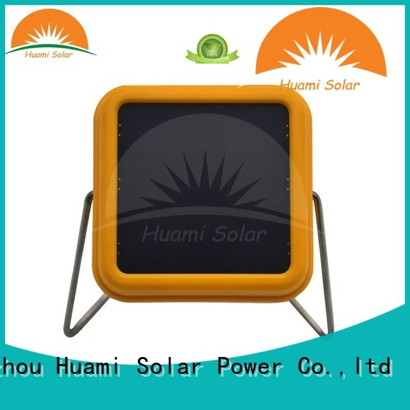 Quality Huami Brand reading panel solar lamp post lights