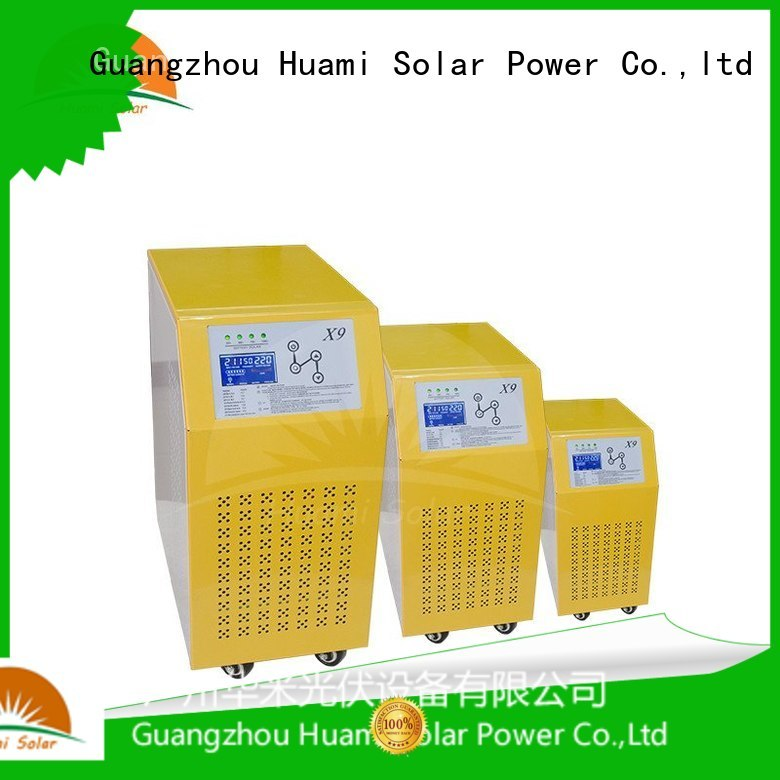 Custom builtin off hybrid inverter charger Huami pure