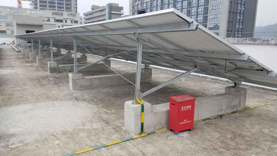 SHENZHEN 200KW ON-GRID SOLAR SYSTEM