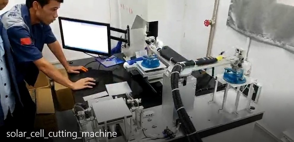 Automatic Solar Cell Cutting Machine