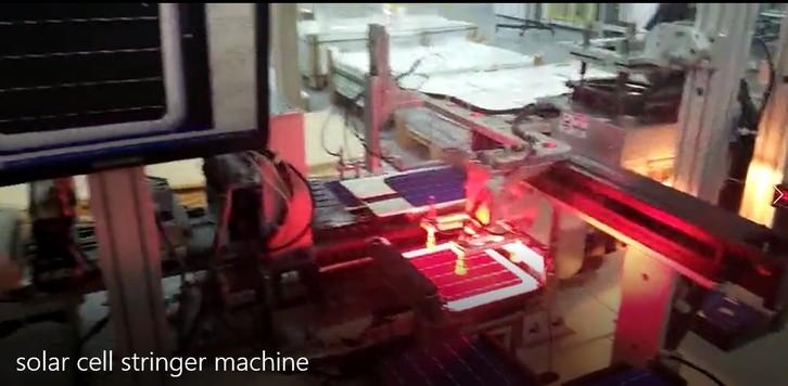 Solar Cell Stringer Machine