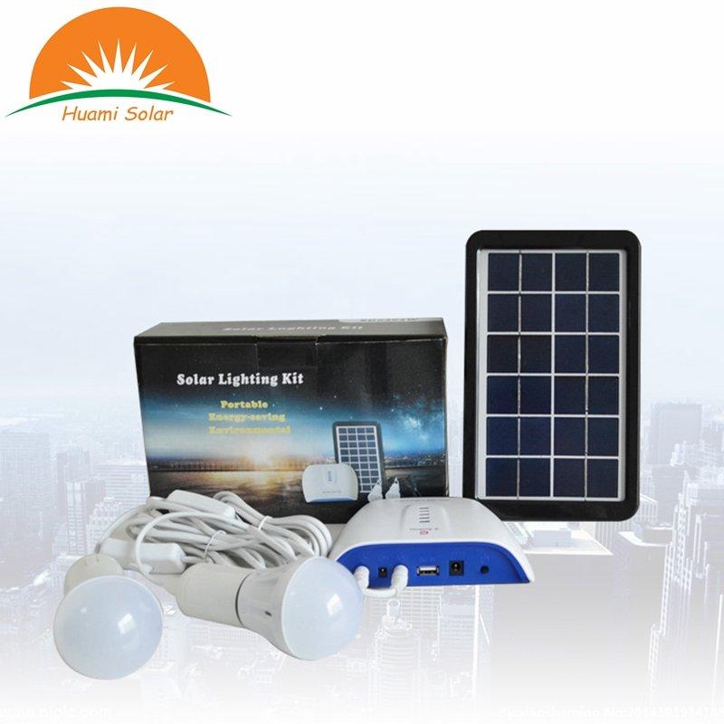 Huami 0403  Portable Solar Lighting Kit Solar Kit image29