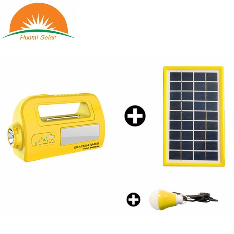 DC 12V Mini Solar System Generator Portable Solar Lighting System