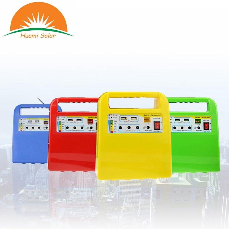 Huami Good Quality 1210W Portable off Grid lighting Solar System Solar Kit image27