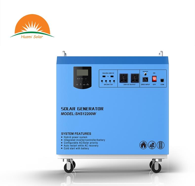 12V 200Ah battery All in One Solar inverter