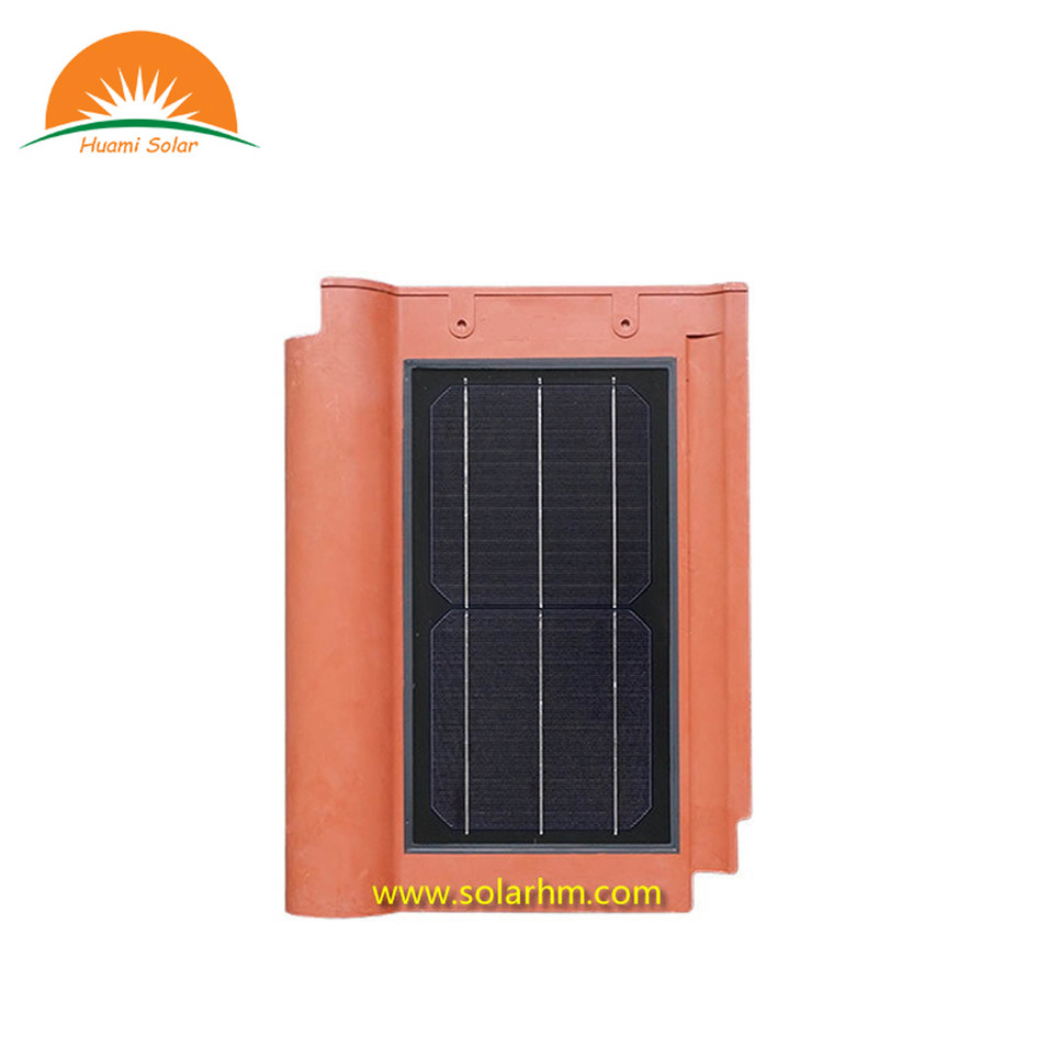 10W solar roof wave tile .