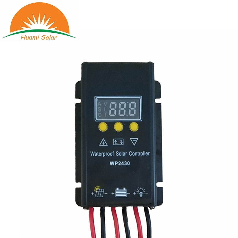 wp2430 water proof solar controller