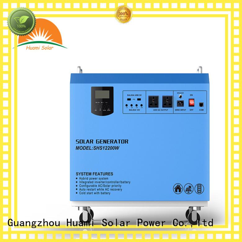 dc80w portable small solar kit kit Huami