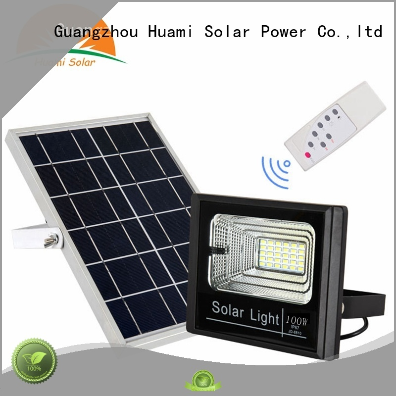 home reading 3w Huami Brand solar lamp post lights supplier