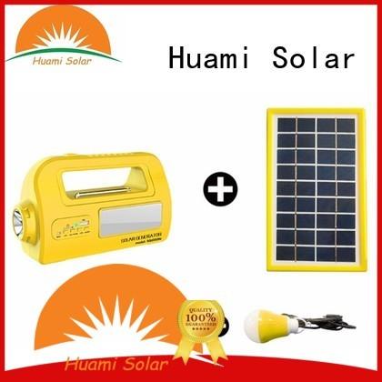 Wholesale kit portable solar panel kits for home Huami Brand