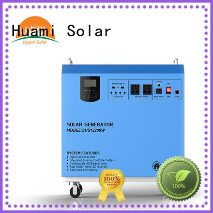 portable solar Wholesale dc80w small solar kit Huami Brand