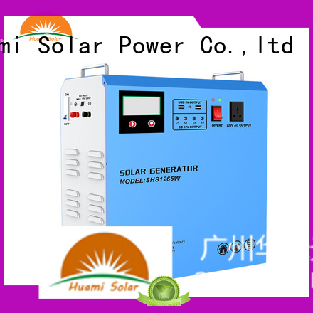 generator kit portable solar panel kits for home lst1210 Huami company