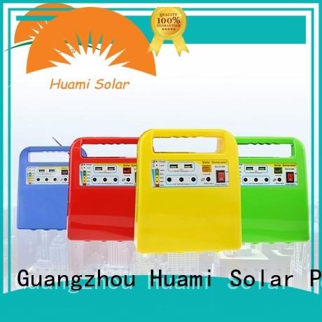 Quality Huami Brand kit dc80w small solar kit