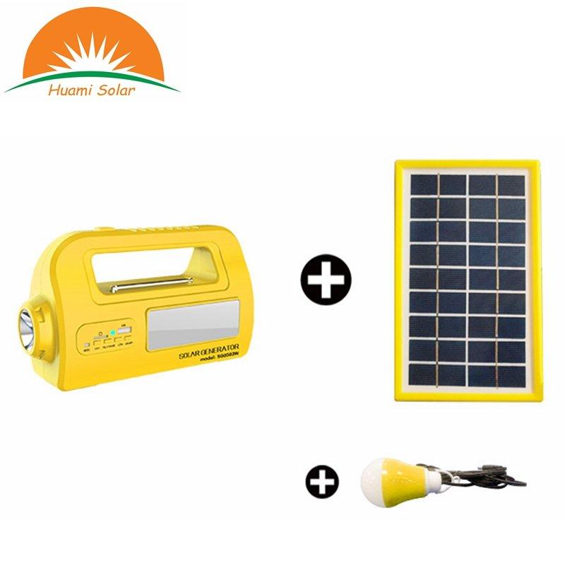 Huami DC 12V Mini Solar System Generator Portable Solar Lighting System Solar Kit image30