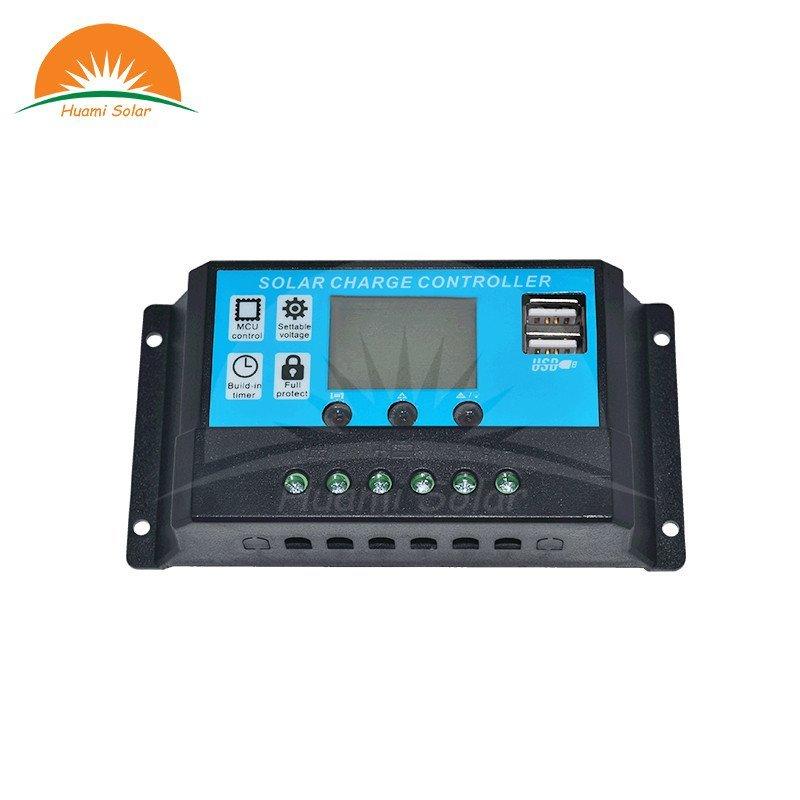 Huami 12V/24V 10A LED PWM Solar Charge Controller HM-1024 PWM Solar Charge Controller image11